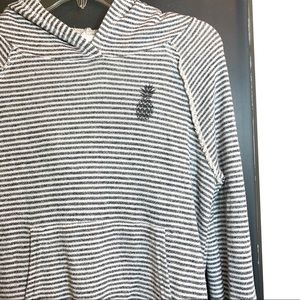O'Neill   Pineapple Stripe Pullover Hoodie XS
